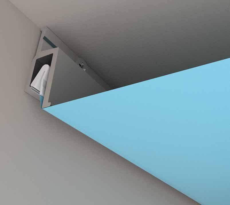 ejemplo instalación techo tensado 2