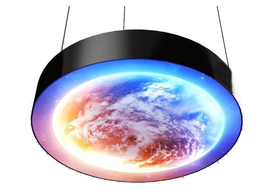 lampara planeta