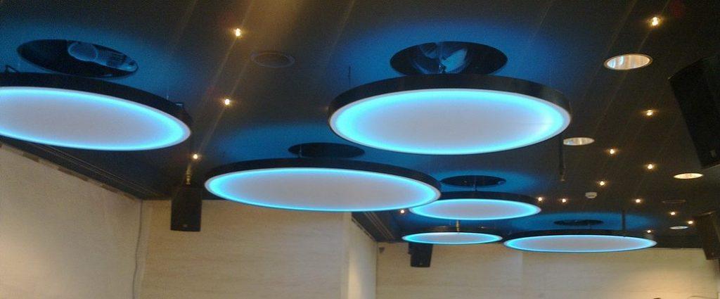 lamparas retroiluminadas led rgbw
